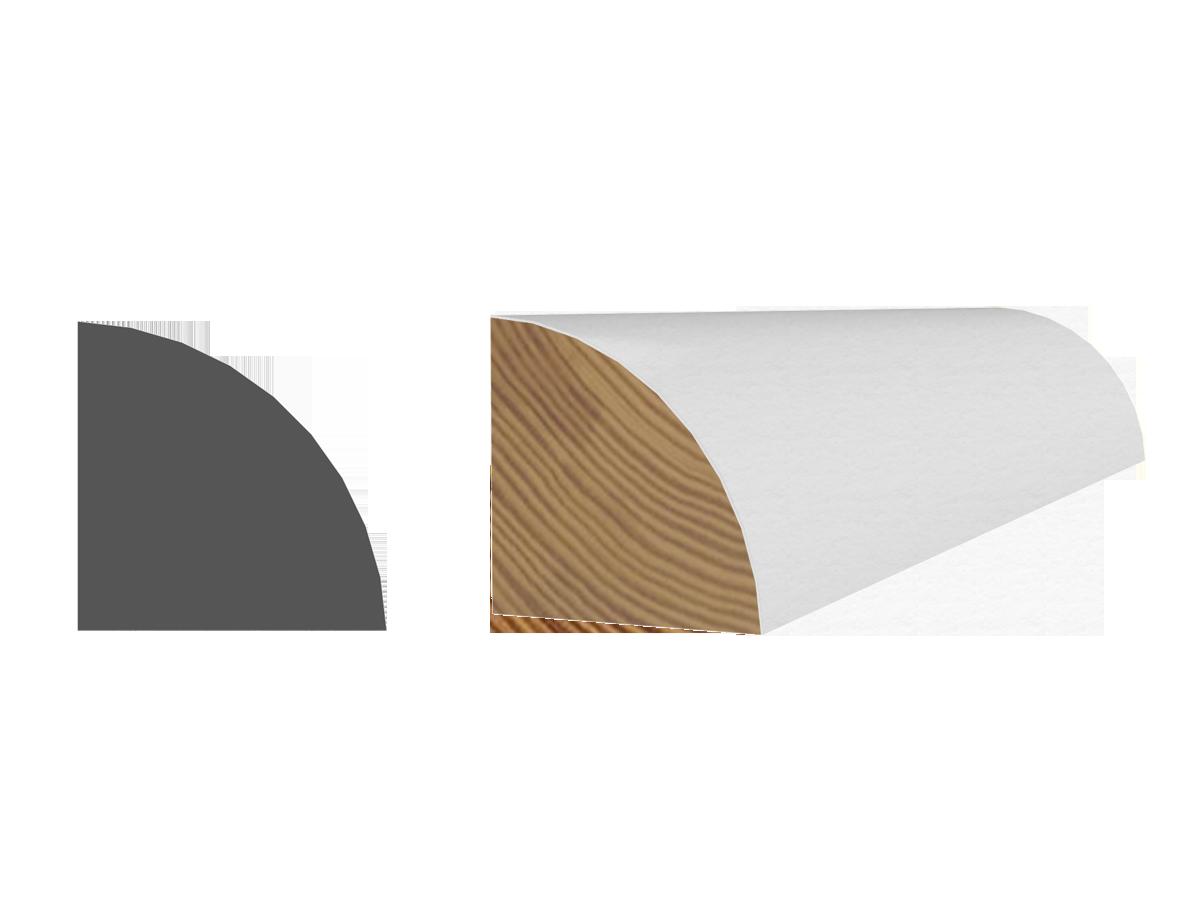 quart de rond avec appr t blanc wp source. Black Bedroom Furniture Sets. Home Design Ideas